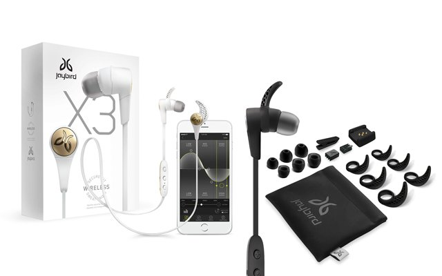 auriculares jaibird X3 bluetooth inalámbricos deportivos