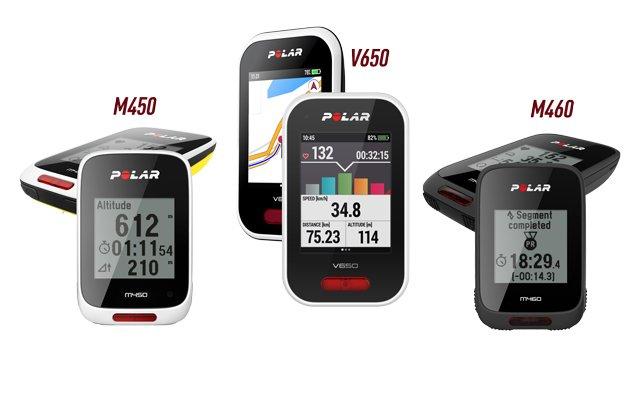 Ciclocomputadores GPS Polar comparativa