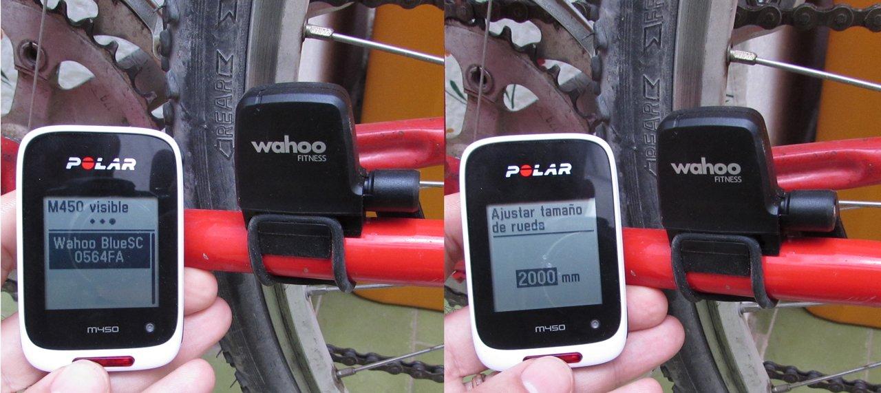 Configuración sensor de velocidad y cadencia