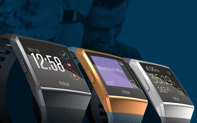 Fitbit ionic smartwatch con gps y pulsómetro óptico