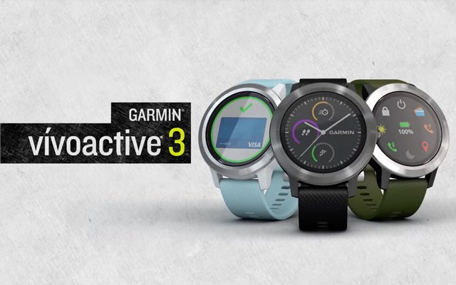 nuevo Garmin vivoactive 3
