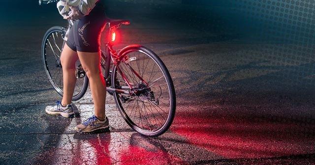 luces para bicicleta de carretera
