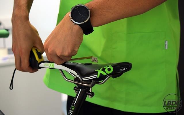 medidas sillin bicicleta