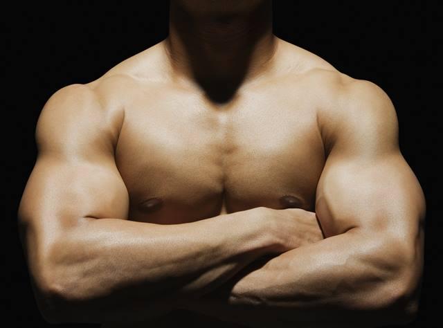 El tríceps se encuentra situado en la región del brazo. Está conformado por tres áreas: porción larga y vastos interno y externo.
