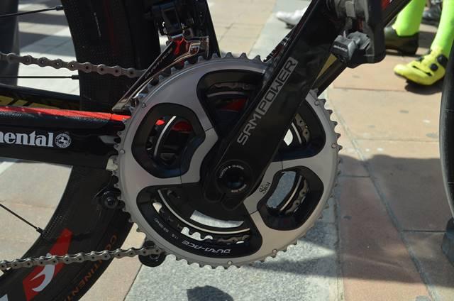 desarrollo delantero bicicleta