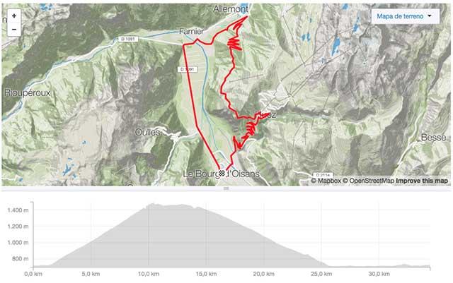 ruta ciclista tour de francia