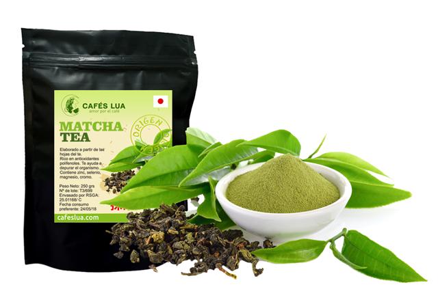 Matcha tea, a trendy food