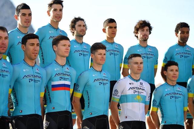Maillot astana team 2020