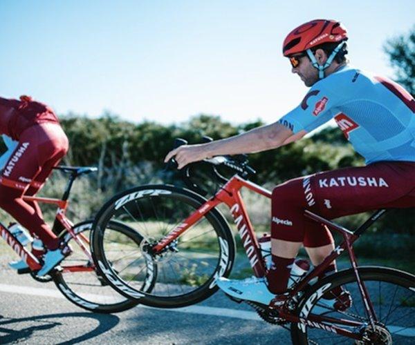 Canyon bicicleta katusha