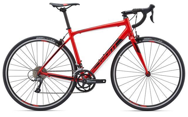 bicicleta carretera giant contend
