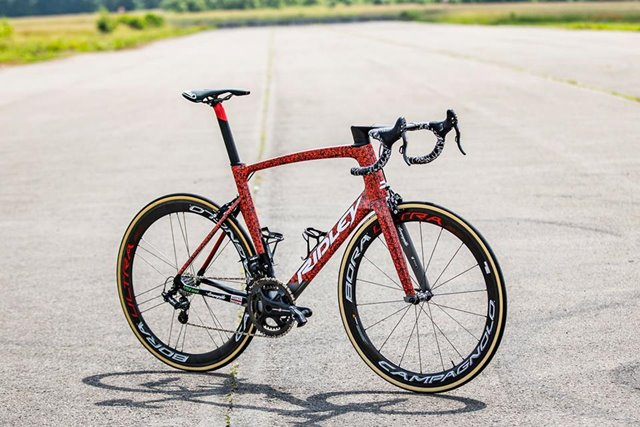 ridley lotto soudal bicicleta