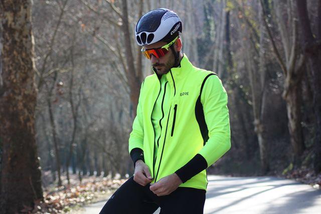 chaleco ciclismo gore c3