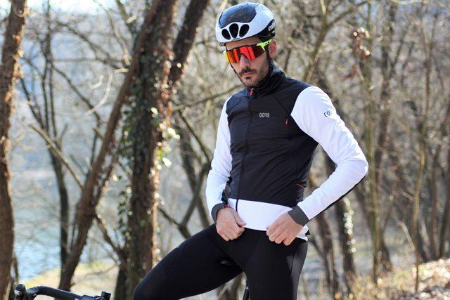 chaqueta gore ciclismo windstopper