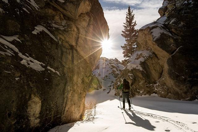 esqui de montaña ciclismo