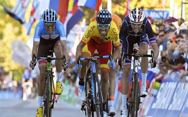 mundial ciclismo Woods Valverde