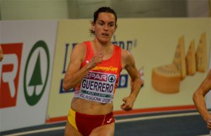 Esther Guerrero, bien en su debut en Glasgow