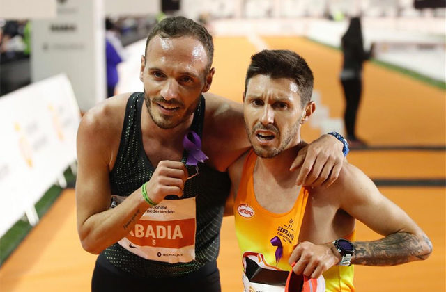 Abadia and Chiki, for the marathon