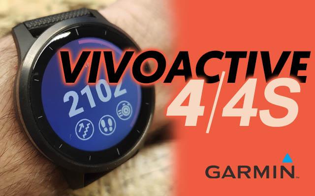 Garmin Vivoactive 4 vivoactive 4s