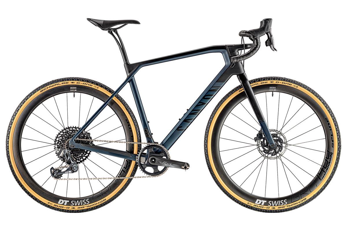 bicicleta gravel canyon grail CF SLX 8.0 etap
