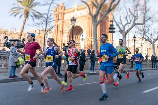 mitja marato barcelona 2020