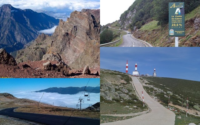 hardest mountain ports in Spain