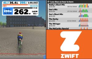 Workout zwift portada