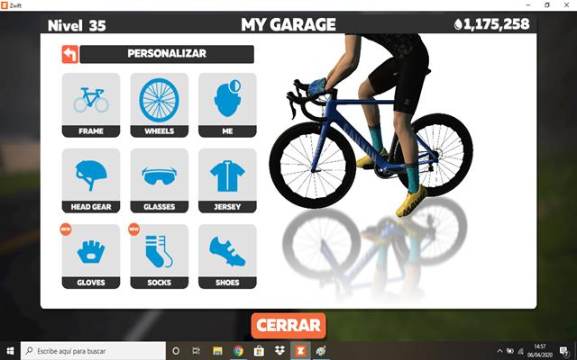 "customize bike zwift ""width ="" 640 ""height ="" 400 ""srcset ="" https://www.sport.es/labolsadelcorridor/wp-content/uploads/2020/04/personalizar-bicycle-zwift.png 640w, https: //www.sport.es/labolsadelcorridor/wp-content/uploads/2020/04/personalizar-bicycle-zwift-320x200.png 320w ""sizes ="" (max-width: 640px) 100vw, 640px"