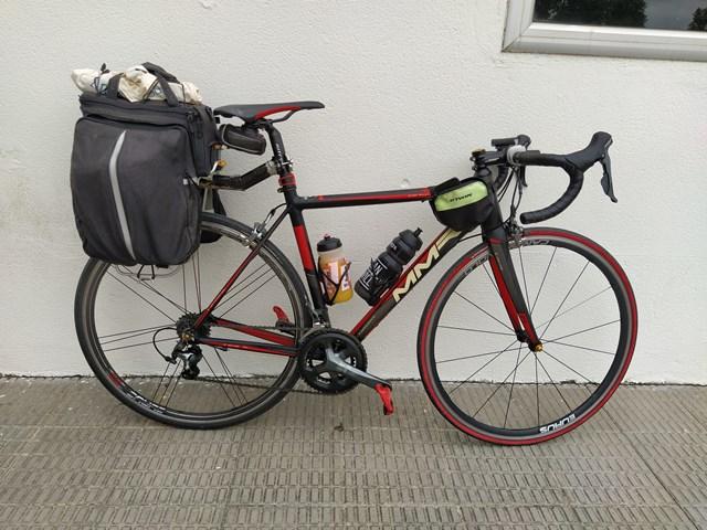 alforjas para viajar en bicicleta