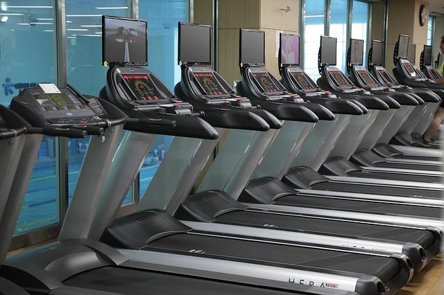 cinta de correr gimnasio
