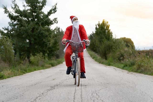10 mandamientos del ciclista en navidad