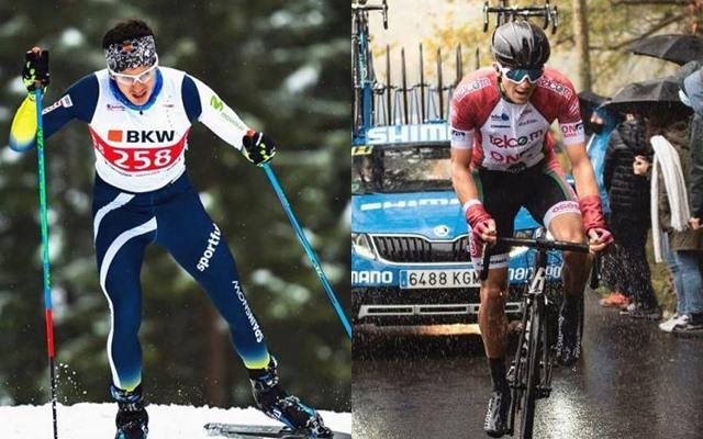 Marti vigo del arco ciclismo profesional androni esqui