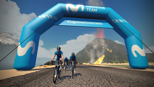movistar en zwift