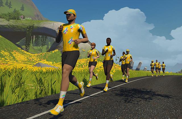 Zwift Academy Run