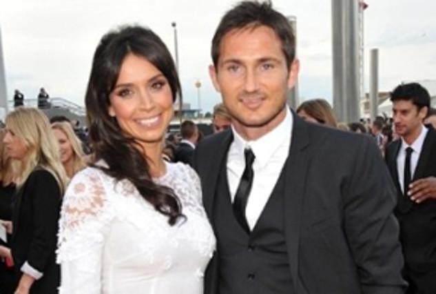 Lampard, junto a su novia