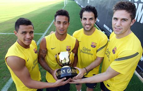 Alexis, Thiago, Cesc y Fontàs, las cuatro novedades en el Gamper