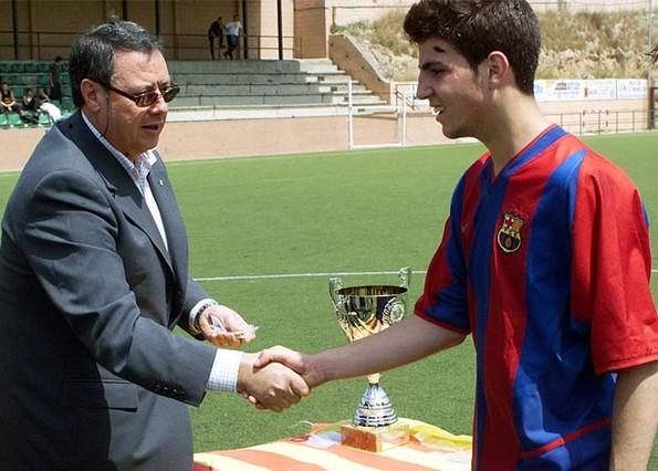 Cesc lideró al exitoso Cadete B de 2003 | Pedro Castroverde