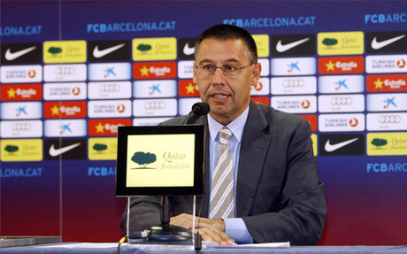 Josep Maria Bartomeu condenó lo ocurrido en el Barça-Madrid
