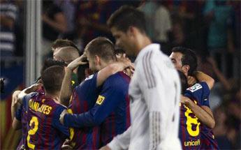 El Madrid no esperó a que el Barça levantará la Supercopa
