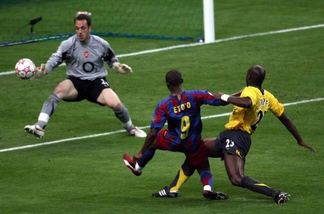 El Barça ganó su segunda Champions ante el Arsenal gracias a dos goles de Eto