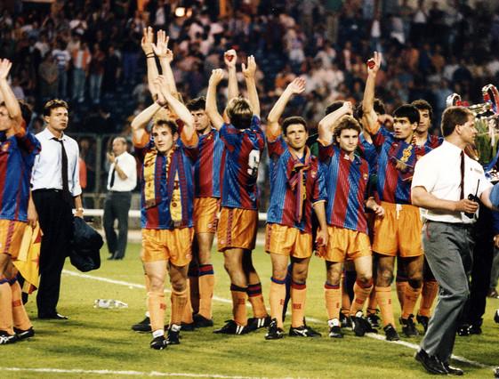 Una imagen de la mágica noche de Wembley JOAN IGNASI PAREDES