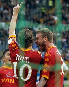 Marcó su gol 206 y ya es el quinto máximo goleador de toda la historia de la Serie A